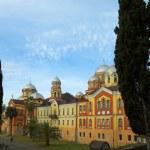 Christian monastery New Athos — Stock Photo #1330286