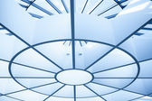 Modern circle ceiling — Stock Photo