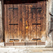 Aged old doors — Stock Photo