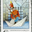 HUNGARY - 1987: shows the Steadfast Tin Soldier, by Hans Christian Andersen, Fairy Tales series — Stock Photo