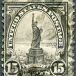 USA - 1922: shows Statue of Liberty — Stock Photo