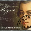 CYPRUS - 2011 : shows Wolfgang Amadeus Mozart (1756-1791) — Stock Photo #12654817