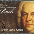 CYPRUS - 2011 : shows Johann Sebastian Bach (1685-1750) - Stok fotoraf