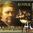 CYPRUS - 2006: shows Rembrandt (1606-1669), Painter — Stock Photo