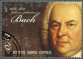 CYPRUS - 2011 : shows Johann Sebastian Bach (1685-1750) — Stock Photo