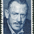 Stock Photo: US- 1979: shows portrait of John Ernst Steinbeck, Jr. (1902-1968)