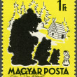HUNGARY - 1959: shows Mashenkand Three Bears — Zdjęcie stockowe #12790647