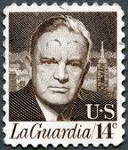 USA - 1972: shows portrait of Fiorello Henry LaGuardia (1882–1 — Stok fotoğraf