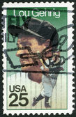 "USA - 1989: shows Henry Louis ""Lou"" Gehrig (1903-1941), Baseball Player for the New York Yankees — Stock Photo"