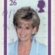 GREAT BRITAIN - 1998: shows Diana, Princess of Wales (1961-1997) — Stock Photo