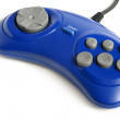 Blue game controller — Stock Photo