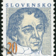 Stock Photo: SLOVAKI- 1993: shows JKollar (1793-1852), writer