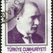 TURKEY - 1990: shows Kemal Ataturk (1881-1938) - Stock Photo