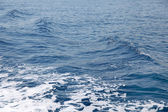 Blue water sea — Stock Photo