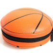 CD case in shape of basket ball — Stock Photo