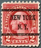 USA - 1923: shows President George Washington — Stock Photo