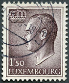 LUXEMBURG - 1966: shows Grand Duke Jean — Stock Photo