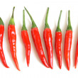 Stock Photo: Red chili peppers