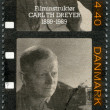 DENMARK - 1989: shows Carl Th. Dreyer (1889-1968), screenwriter and director — Stock Photo