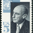 USA - 1965: shows Adlai E. Stevenson II (1900-1965), Governor of Illinois, US Ambassador to the UN, 1961-65 — Stock Photo