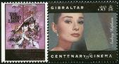 GIBRALTAR - 1995: shows Audrey Hepburn (1929-1993), actress — Stock Photo
