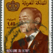 MOROCCO - 1983: shows King Hassan II (1929-1999) — Stock Photo