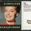 GIBRALTAR - 1995: shows Romy Schneider (1938-1982), actress — Stockfoto #14443823