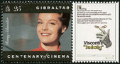 GIBRALTAR - 1995: shows Romy Schneider (1938-1982), actress — Stockfoto