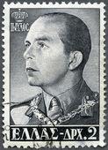 GREECE - 1956: shows King Paul (1901-1964) — Stock Photo
