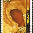 CYPRUS - 2001: shows Icon of Madonna, Holy Monastery of Macheras, 800th anniversary — Stock Photo #14572931