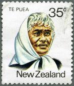 NEW ZEALAND - 1980: shows Princess Te Puea Herangi (1883-1952) — Stock Photo
