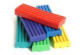 Color children's plasticine — Stock Photo