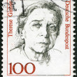 GERMANY - 1988: shows Therese Giehse (1898-1975), actress - Stock Photo