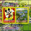 MALAWI - 2008: shows Disneyland, Mickey Mouse — Stock Photo #15445575