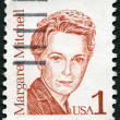 US- 1986: shows Margaret Munnerlyn Mitchell (1900-1949), Americauthor and journalist, series Great Americans — Stock Photo #15649727