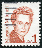 USA - 1986: shows Margaret Munnerlyn Mitchell (1900-1949), American author and journalist, series Great Americans — Stock Photo
