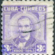CUBA - 1954: shows Jose de la Luz Caballero (1800-1862) - Photo