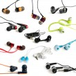 Earphones collection — Stock Photo #16346603