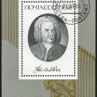 Stock Photo: USSR - 1985: shows Johann SebastiBach (1685-1750), Composer