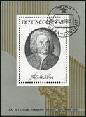 USSR - 1985: shows Johann Sebastian Bach (1685-1750), Composer — Stock Photo