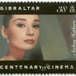GIBRALTAR - 1995: shows Audrey Hepburn (1929-1993), actress — Stock Photo #16853599