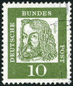GERMANY - 1961: shows Albrecht Durer (1471-1528) — Stock Photo