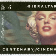 GIBRALTAR - 1995: shows Marilyn Monroe - Stockfoto