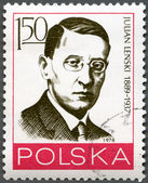 POLAND - 1978: shows Julian Lenski (1889-1937) — Stock Photo