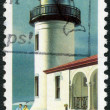 USA - 1990: shows Admiralty Head, Washington, series Lighthouses — Stock Photo