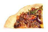 Bit pizza — Stockfoto