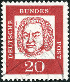 GERMANY - 1961: shows Johann Sebastian Bach (1685-1750) — Photo