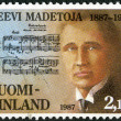 Stock Photo: FINLAND - 1987: shows Leevi Madetoj(1887-1947), composer
