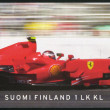 FINLAND - 2008: shows Kimi Raikkonen F1 World Champion 2007, Motor racing — Stock Photo