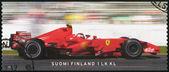 FINLAND - 2008: shows Kimi Raikkonen F1 World Champion 2007, Motor racing — Stock Photo